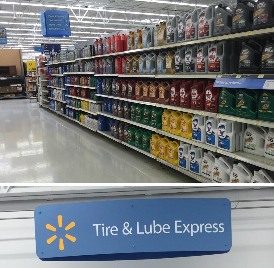 Walmart Oil.
